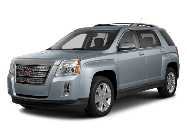 Atlantis Blue Metallic 2014 GMC Terrain Pictures Terrain Utility 4D SLT AWD photos front view
