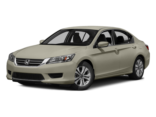 Champagne Frost Pearl 2014 Honda Accord Sedan Pictures Accord Sedan 4D LX I4 photos front view