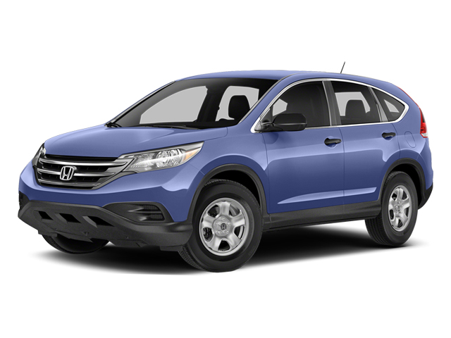 Twilight Blue Metallic 2014 Honda CR-V Pictures CR-V Utility 4D LX 2WD I4 photos front view
