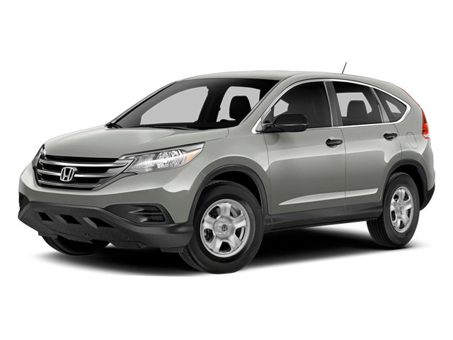 Alabaster Silver Metallic 2014 Honda CR-V Pictures CR-V Utility 4D LX 2WD I4 photos front view