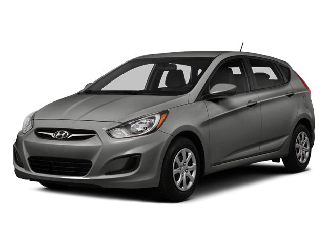 Ironman Silver Metallic 2014 Hyundai Accent Pictures Accent Hatchback 5D GS I4 photos front view