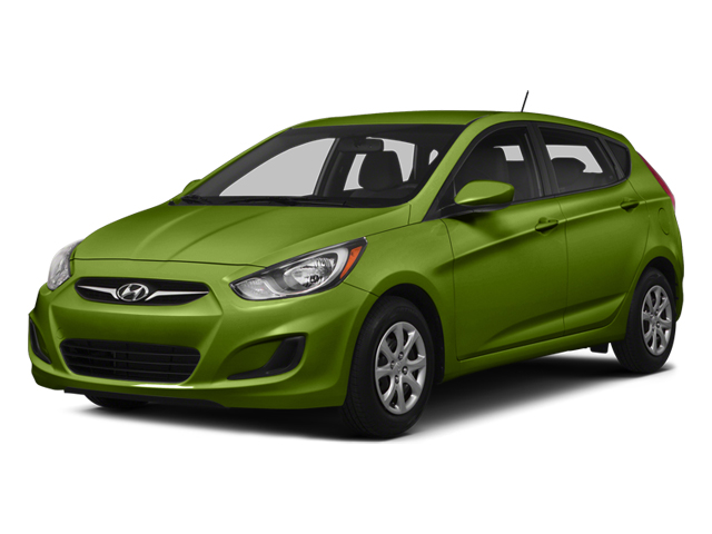 Electrolyte Green Pearl 2014 Hyundai Accent Pictures Accent Hatchback 5D GS I4 photos front view