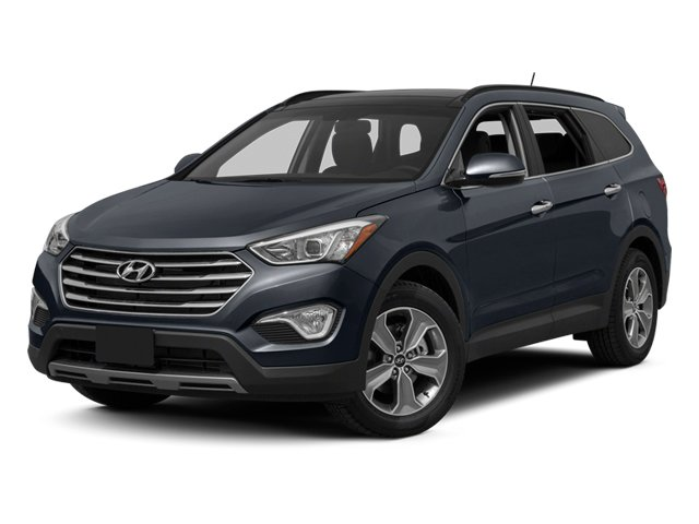 Night Sky Pearl 2014 Hyundai Santa Fe Pictures Santa Fe Utility 4D GLS Technology AWD photos front view