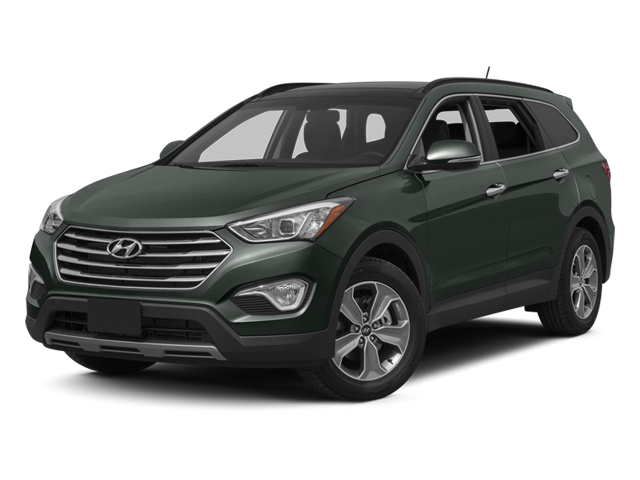 Hampton Green Pearl 2014 Hyundai Santa Fe Pictures Santa Fe Utility 4D GLS Technology AWD photos front view