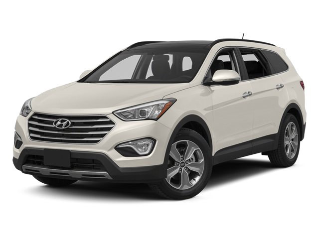 Monaco White 2014 Hyundai Santa Fe Pictures Santa Fe Utility 4D GLS Technology AWD photos front view
