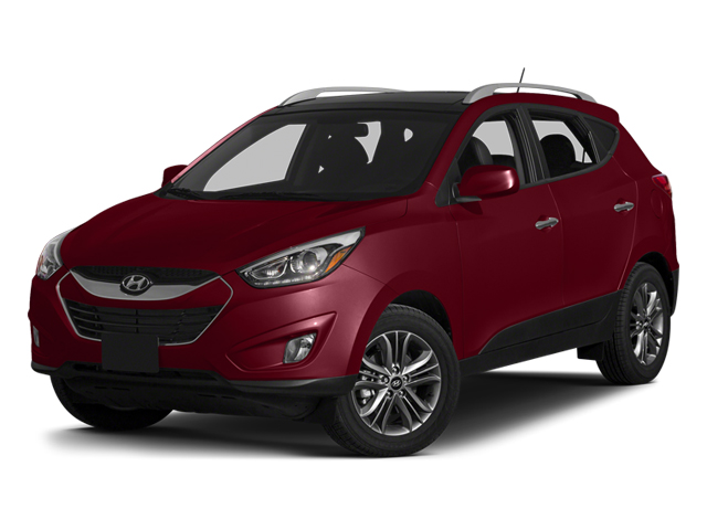 Garnet Red 2014 Hyundai Tucson Pictures Tucson Utility 4D Limited AWD I4 photos front view