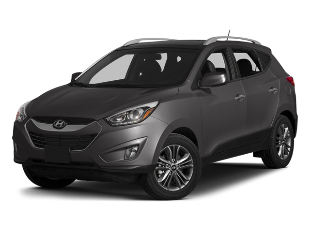 Graphite Gray 2014 Hyundai Tucson Pictures Tucson Utility 4D Limited AWD I4 photos front view