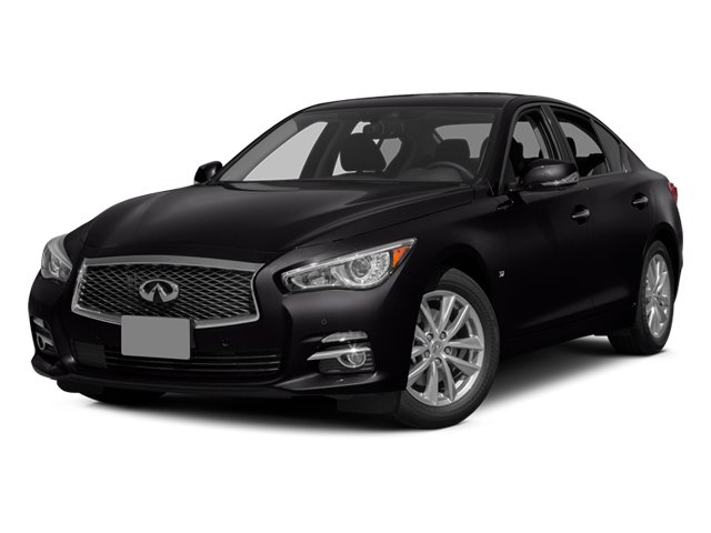 Malbec Black 2014 INFINITI Q50 Pictures Q50 Sedan 4D Premium V6 photos front view
