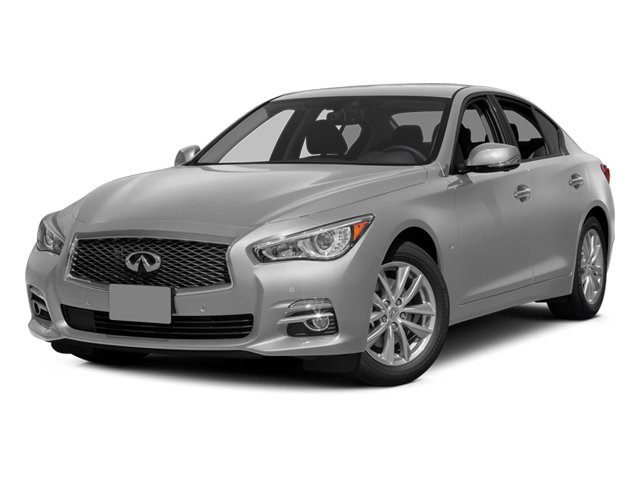 Liquid Platinum 2014 INFINITI Q50 Pictures Q50 Sedan 4D AWD V6 photos front view