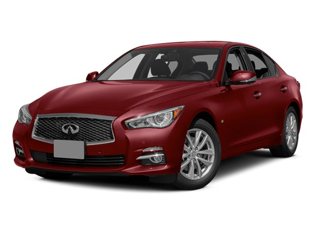 Venetian Ruby 2014 INFINITI Q50 Pictures Q50 Sedan 4D Sport V6 photos front view