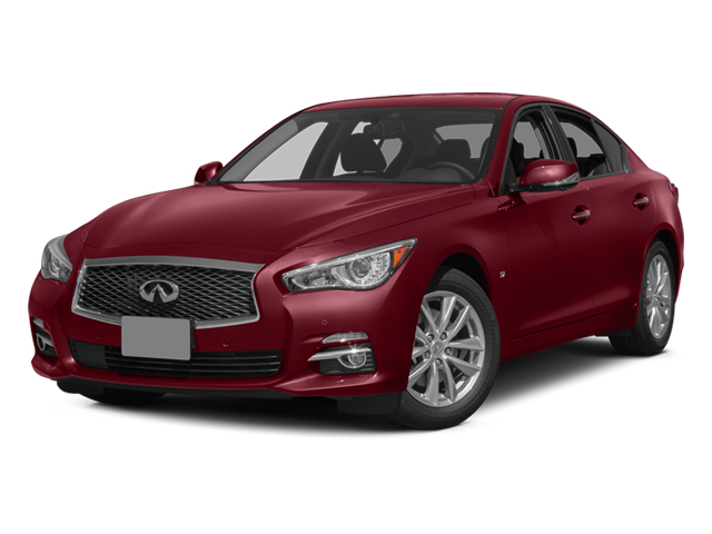 Venetian Ruby 2014 INFINITI Q50 Pictures Q50 Sedan 4D AWD V6 photos front view