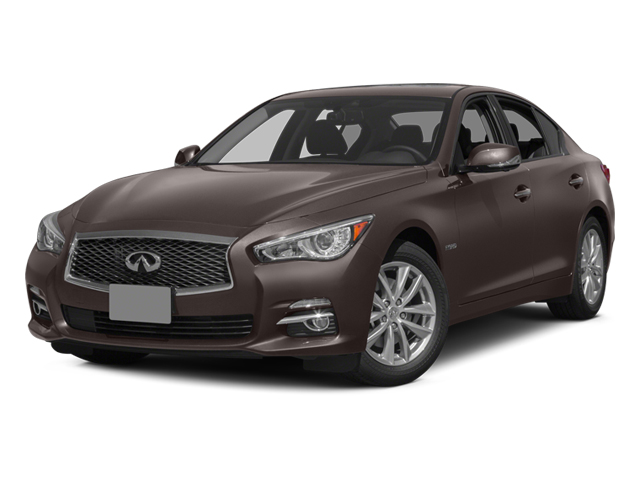 Chestnut Bronze 2014 INFINITI Q50 Pictures Q50 Sedan 4D Premium AWD V6 Hybrid photos front view