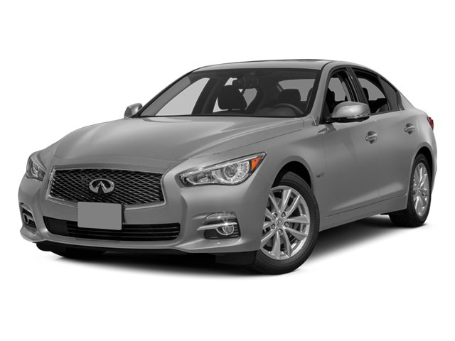 Liquid Platinum 2014 INFINITI Q50 Pictures Q50 Sedan 4D Premium AWD V6 Hybrid photos front view