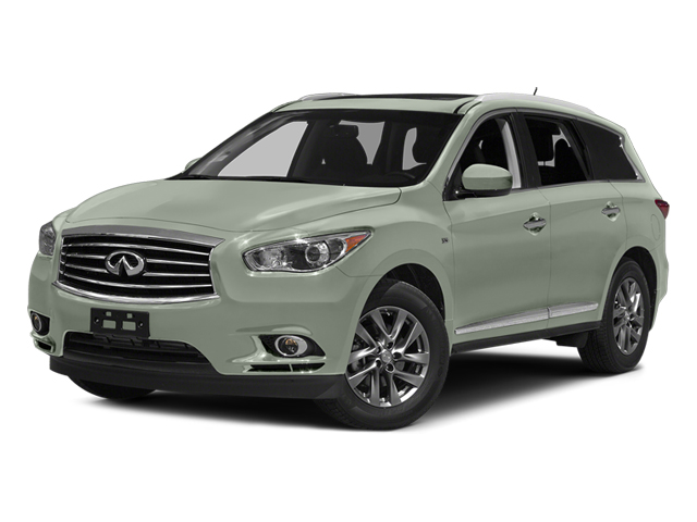 Glacial Silver 2014 INFINITI QX60 Pictures QX60 Utility 4D AWD V6 photos front view