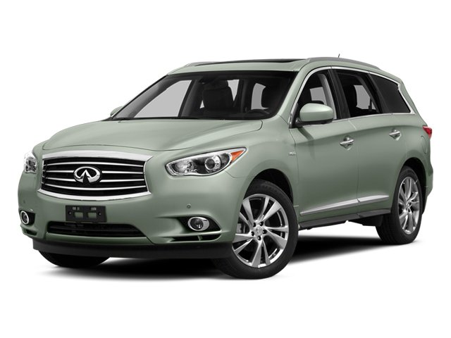 Glacial Silver 2014 INFINITI QX60 Pictures QX60 Utility 4D Hybrid AWD I4 photos front view
