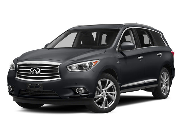 Diamond Slate 2014 INFINITI QX60 Pictures QX60 Utility 4D Hybrid AWD I4 photos front view