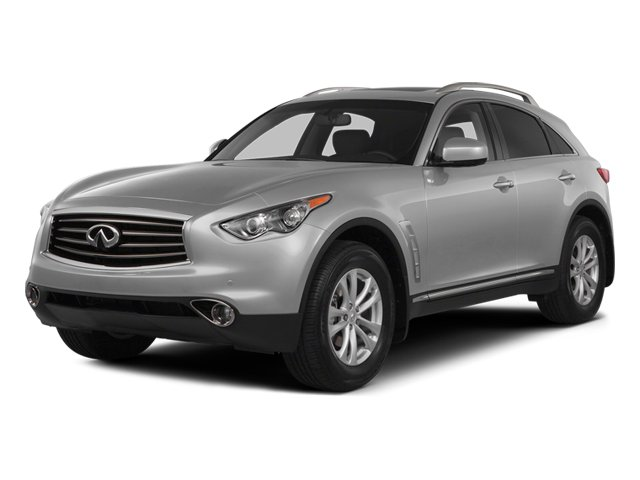 Liquid Platinum 2014 INFINITI QX70 Pictures QX70 Utility 4D 2WD V6 photos front view