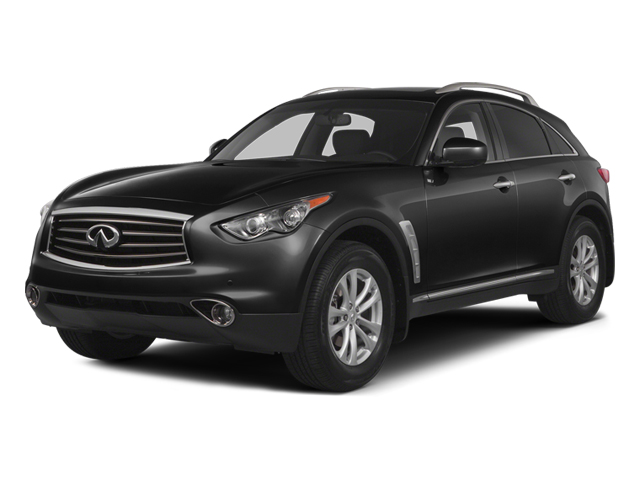 Black Obsidian 2014 INFINITI QX70 Pictures QX70 Utility 4D AWD V8 photos front view