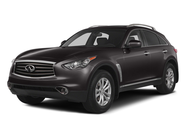 Midnight Mocha 2014 INFINITI QX70 Pictures QX70 Utility 4D AWD V8 photos front view