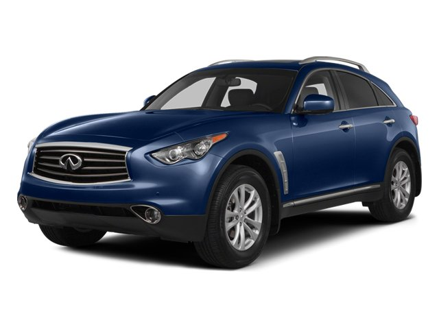 Iridium Blue 2014 INFINITI QX70 Pictures QX70 Utility 4D 2WD V6 photos front view