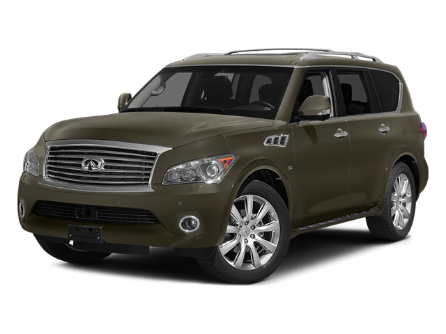 Smoky Quartz 2014 INFINITI QX80 Pictures QX80 Utility 4D 2WD V8 photos front view