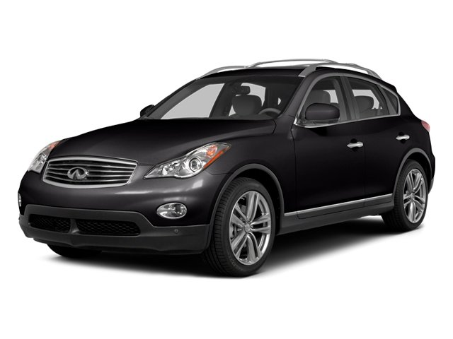 Malbec Black 2014 INFINITI QX50 Pictures QX50 Utility 4D Journey AWD V6 photos front view
