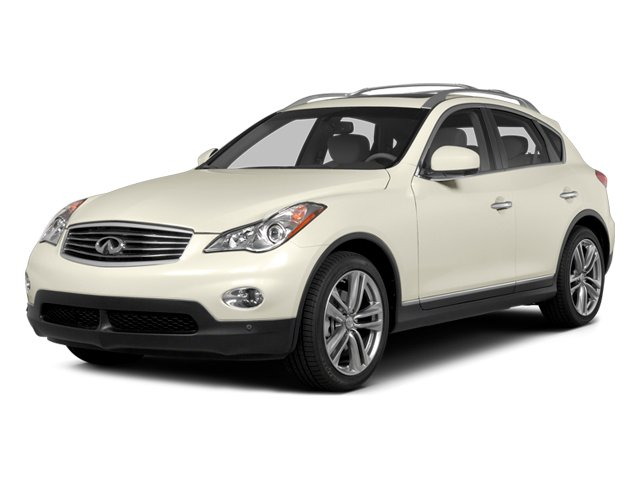Moonlight White 2014 INFINITI QX50 Pictures QX50 Utility 4D Journey AWD V6 photos front view