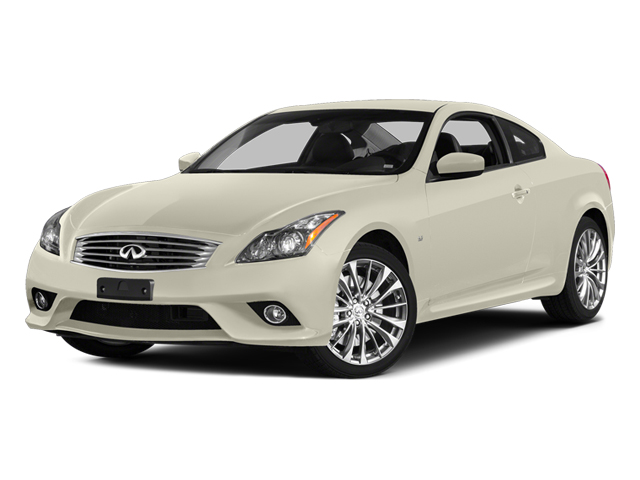 Moonlight White 2014 INFINITI Q60 Coupe Pictures Q60 Coupe 2D AWD V6 photos front view