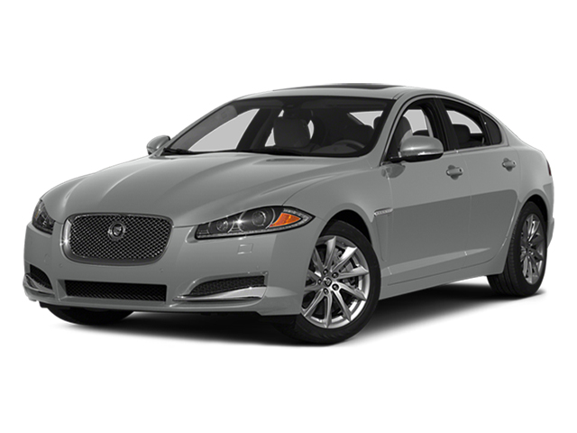 Rhodium Silver Metallic 2014 Jaguar XF Pictures XF Sedan 4D I4 Turbo photos front view