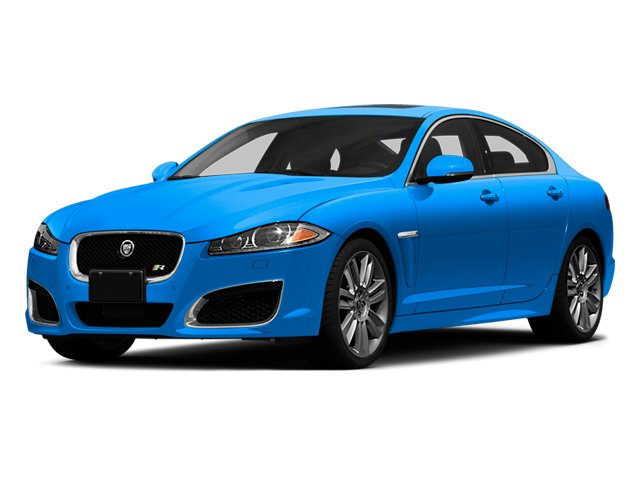 French Racing Blue 2014 Jaguar XF Pictures XF Sedan 4D XFR-S V8 Supercharged photos front view