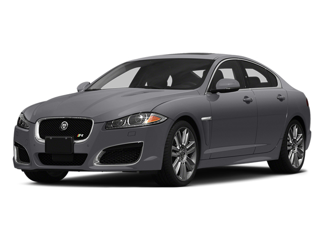 Lunar Gray Metallic 2014 Jaguar XF Pictures XF Sedan 4D XFR V8 Supercharged photos front view