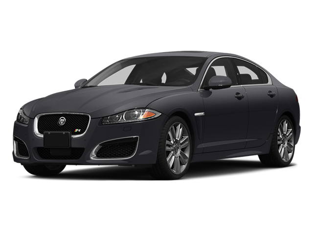 Stratus Gray Metallic 2014 Jaguar XF Pictures XF Sedan 4D XFR-S V8 Supercharged photos front view