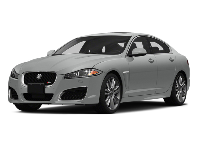 Rhodium Silver Metallic 2014 Jaguar XF Pictures XF Sedan 4D XFR V8 Supercharged photos front view