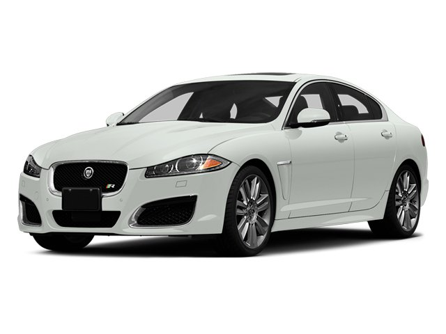 Polaris White 2014 Jaguar XF Pictures XF Sedan 4D XFR-S V8 Supercharged photos front view