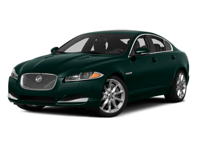 British Racing Green 2014 Jaguar XF Pictures XF Sedan 4D AWD V6 Supercharged photos front view