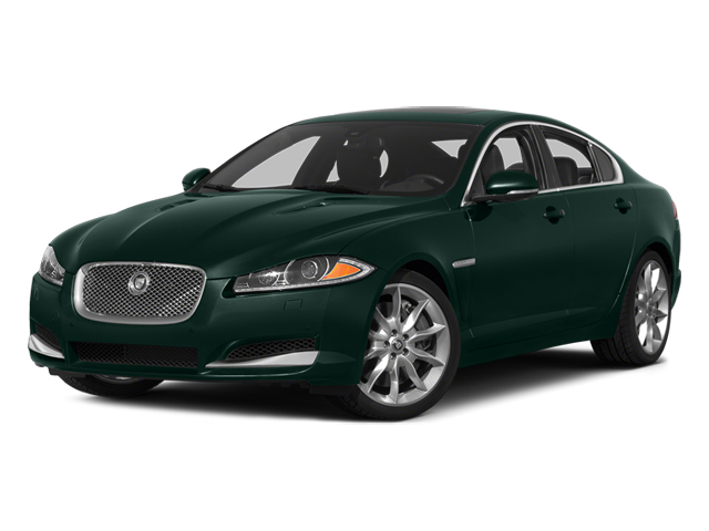 British Racing Green 2014 Jaguar XF Pictures XF Sedan 4D V6 Supercharged photos front view
