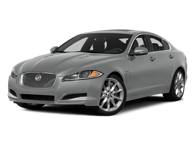 Rhodium Silver Metallic 2014 Jaguar XF Pictures XF Sedan 4D V6 Supercharged photos front view