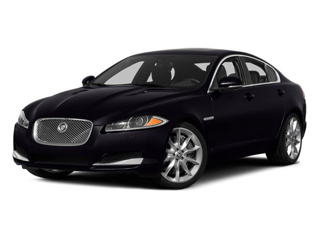 Ultimate Black Metallic 2014 Jaguar XF Pictures XF Sedan 4D AWD V6 Supercharged photos front view