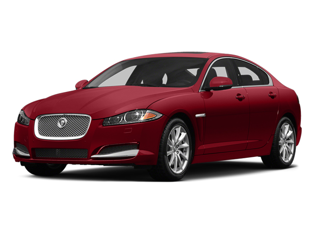 Italian Racing Red 2014 Jaguar XF Pictures XF Sedan 4D V8 Supercharged photos front view