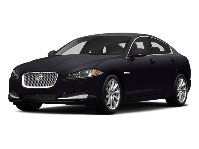 Ultimate Black Metallic 2014 Jaguar XF Pictures XF Sedan 4D V8 Supercharged photos front view