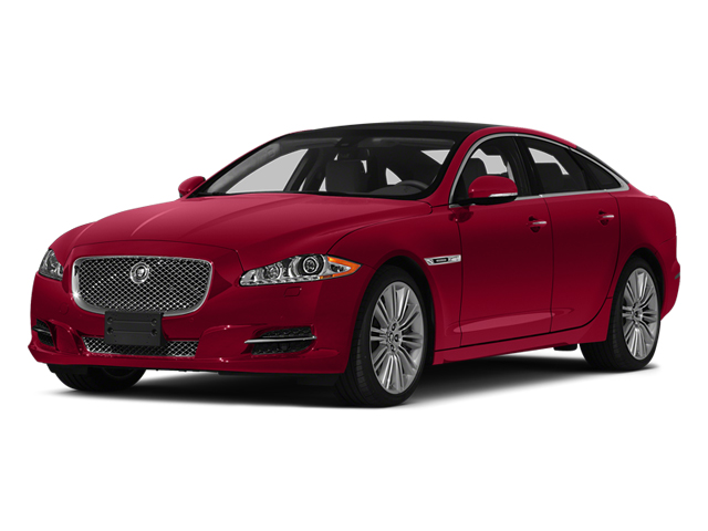 Carnelian Red Metallic 2014 Jaguar XJ Pictures XJ Sedan 4D L XJR V8 Supercharged photos front view