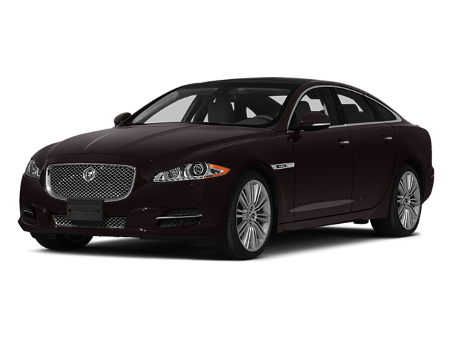 Caviar Metallic 2014 Jaguar XJ Pictures XJ Sedan 4D L XJR V8 Supercharged photos front view