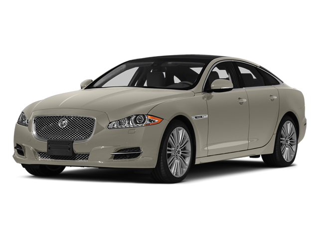 Cashmere Metallic 2014 Jaguar XJ Pictures XJ Sedan 4D L XJR V8 Supercharged photos front view
