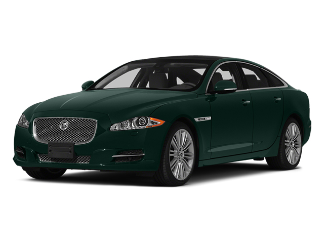 British Racing Green 2014 Jaguar XJ Pictures XJ Sedan 4D L XJR V8 Supercharged photos front view