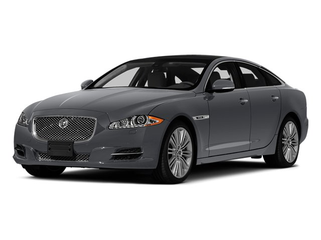 Lunar Grey Metallic 2014 Jaguar XJ Pictures XJ Sedan 4D L XJR V8 Supercharged photos front view