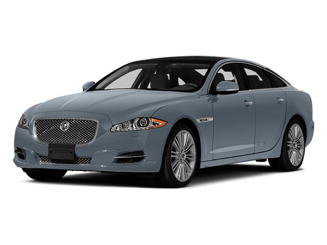 Satellite Grey Metallic 2014 Jaguar XJ Pictures XJ Sedan 4D L XJR V8 Supercharged photos front view