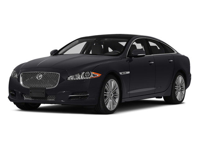 Stratus Grey Metallic 2014 Jaguar XJ Pictures XJ Sedan 4D L XJR V8 Supercharged photos front view