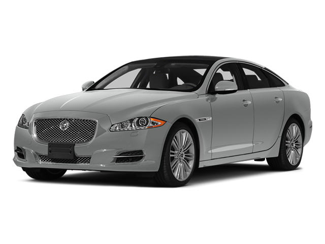 Rhodium Silver Metallic 2014 Jaguar XJ Pictures XJ Sedan 4D L XJR V8 Supercharged photos front view