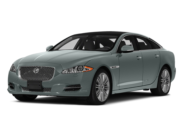 Osmium Blue Metallic 2014 Jaguar XJ Pictures XJ Sedan 4D L XJR V8 Supercharged photos front view