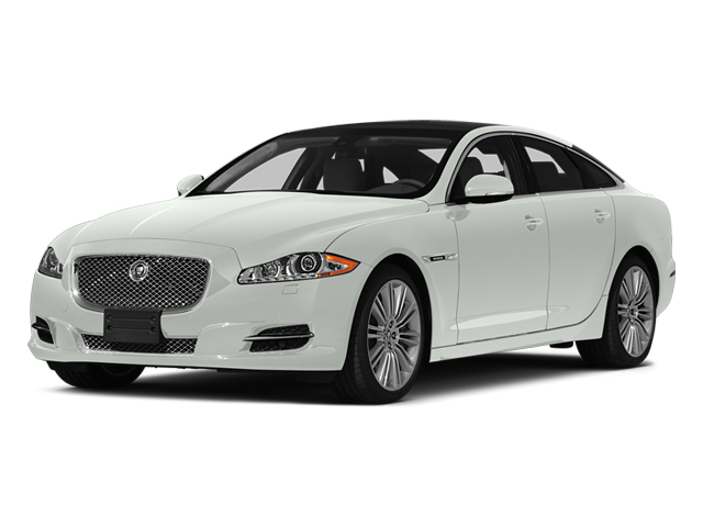 Polaris White 2014 Jaguar XJ Pictures XJ Sedan 4D L XJR V8 Supercharged photos front view